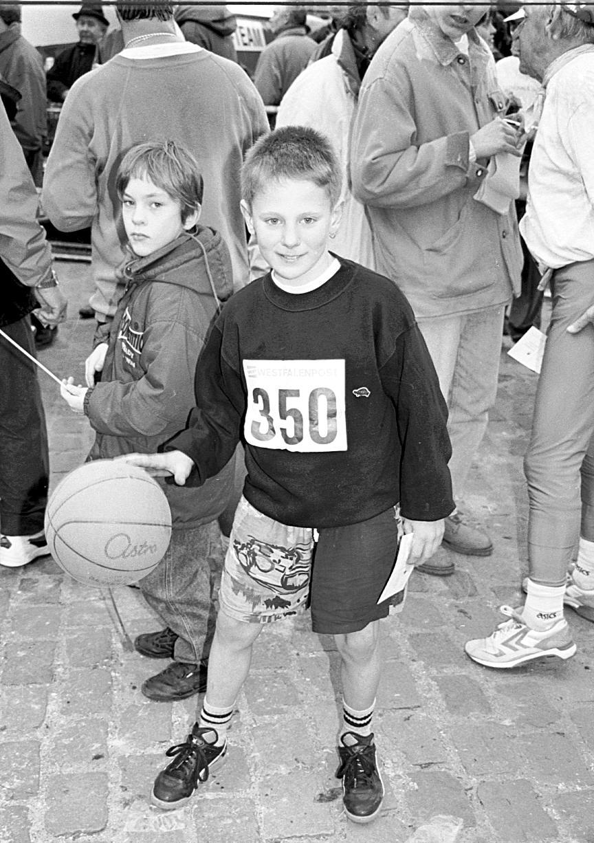 Basketballspieler – Größter Silvesterlauf Deutschlands – von Werl ...