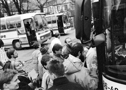 Einsteigen In Busse