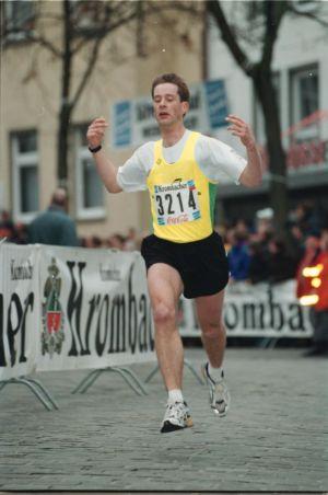 Einzelner Läufer