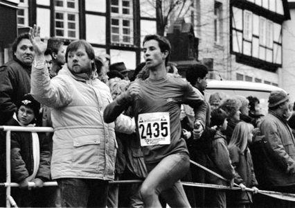 Läufer Und Publikum