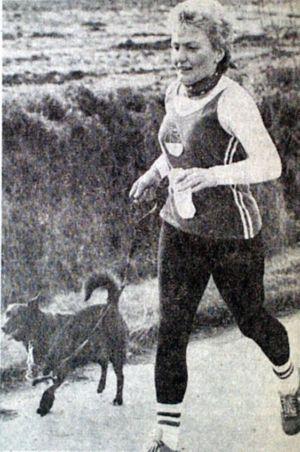 Läuferhund Reny